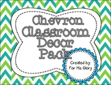 Chevron Classroom Decor Pack