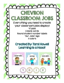 Chevron Classroom Jobs (All you need to get started)