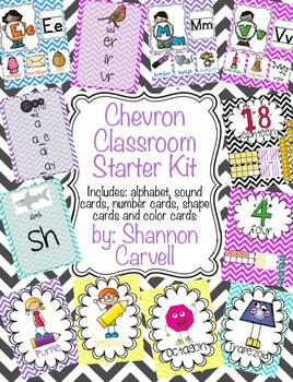 Chevron Classroom Kit