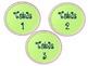 Chevron Classroom Labels (Set B)