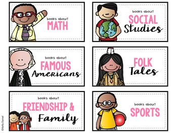 Classroom Library Labels V2 {NEWLY UPDATED!}