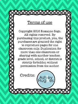 Chevron Classroom Library Labels (Editable)