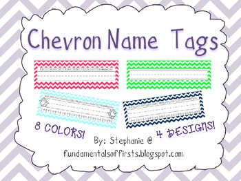 Chevron Classroom Materials