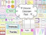Chevron Classroom Pack