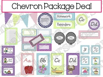 Package Deal: Chevron Themed