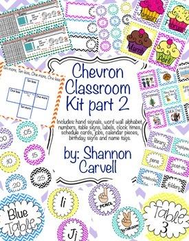 Chevron Classroom Part 2