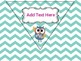 Classroom Rules (Pennant Banner) Chevron, Editable & Owl Themed