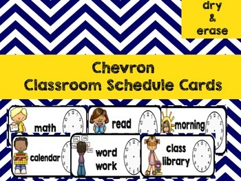 Chevron Classroom Schedule