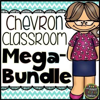 Chevron Classroom Set {MEGA-BUNDLE}