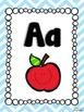 Chevron Classroom Theme - Letters FREEBIE