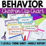 Chevron Clip Chart Behavior System {Editable Version Included}