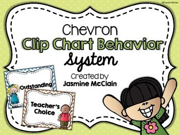 Chevron Clip Chart Behavior System