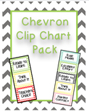 Chevron Clip Chart Pack
