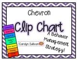 Chevron Clip Chart for Behavior Managment