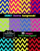 Chevron Clipart Backgrounds Digital Paper for Commercial Use