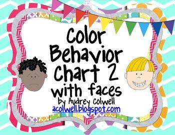 Chevron Color Behavior Chart - Facial Expressions2