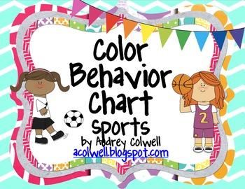 Chevron Color Behavior Chart - Sports