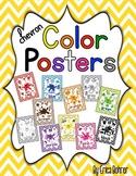 Color Posters: Chevron