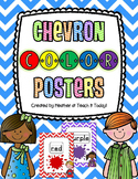 Chevron Color Posters