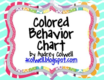 Chevron Color Behavior Chart