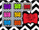 Chevron Colored Behavior Clip Chart
