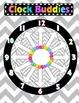 Chevron & Colorful Clock Buddies