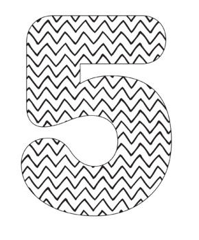 Chevron Coloring Alpha Clip Art