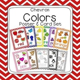 Chevron Learn My Colors Poster Set