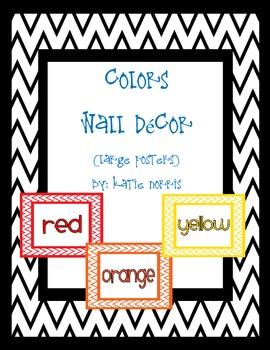 {Chevron} Colors Wall Decor
