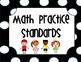 Chevron Common Core Math Practice Standards Posters