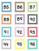 Chevron Counting Cards - Count from 1-200 Pre-K, Kindergarten, First Grade