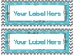 Chevron Customizable Labels
