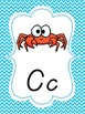 Chevron D'Nealian Alphabet Set