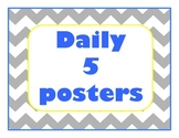 Chevron Daily 5 posters