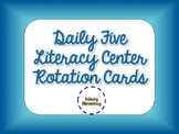 Chevron Daily Five Rotation Cards
