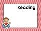 Chevron Daily Learning Targets Bulletin Board Set