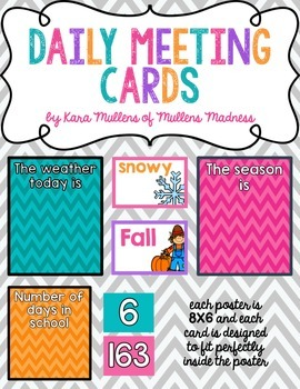 Chevron Daily Meeting Posters