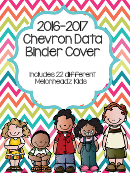 Chevron Data Binder Covers