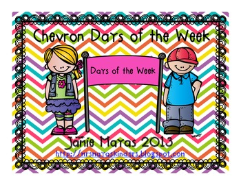 Chevron Days of the Week Banner