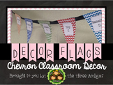 Chevron Decor Flags