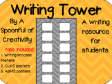 Chevron Design Writing Resource Editable