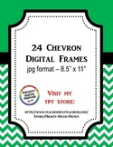 Chevron Digital Frames