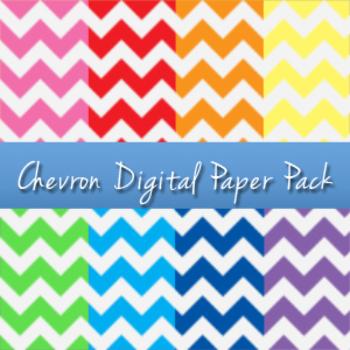Chevron Digital Paper Pack