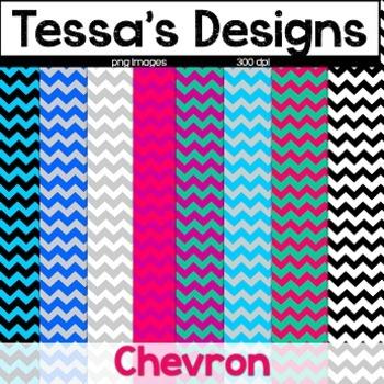 Chevron {Digital Paper Pack}
