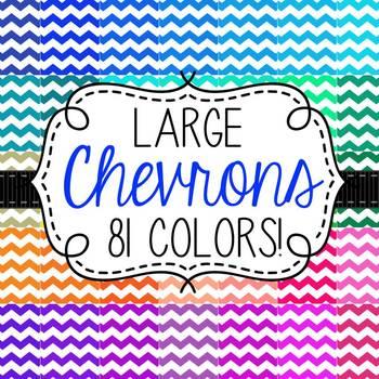 Chevron Digital Papers- 81 Colors!