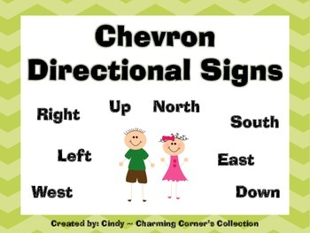 Chevron Directional Signs