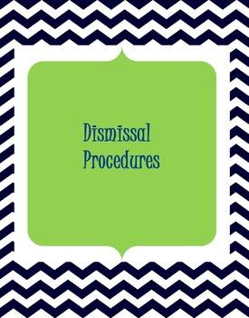 Chevron Dismissal Procedures Posters