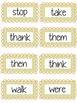 Chevron Dolch Sight Words (1st Grade)