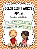 Chevron Dolch Sight Words (Pre-K)