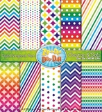 Chevron & Dot Digital Scrapbook Pack {Zip-A-Dee-Doo-Dah Designs}